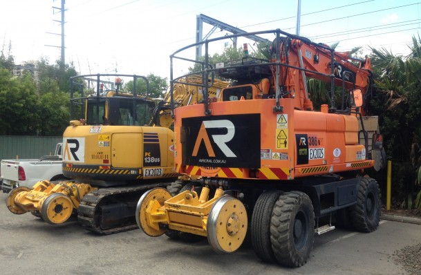 road rail plant