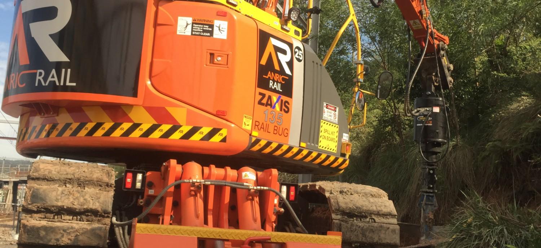 Rail bug zx135RR